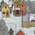 detail: background town - town